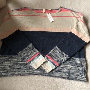 Anthropologie linen sweater!